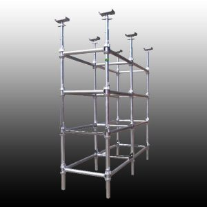 Steel scafolding in UAE